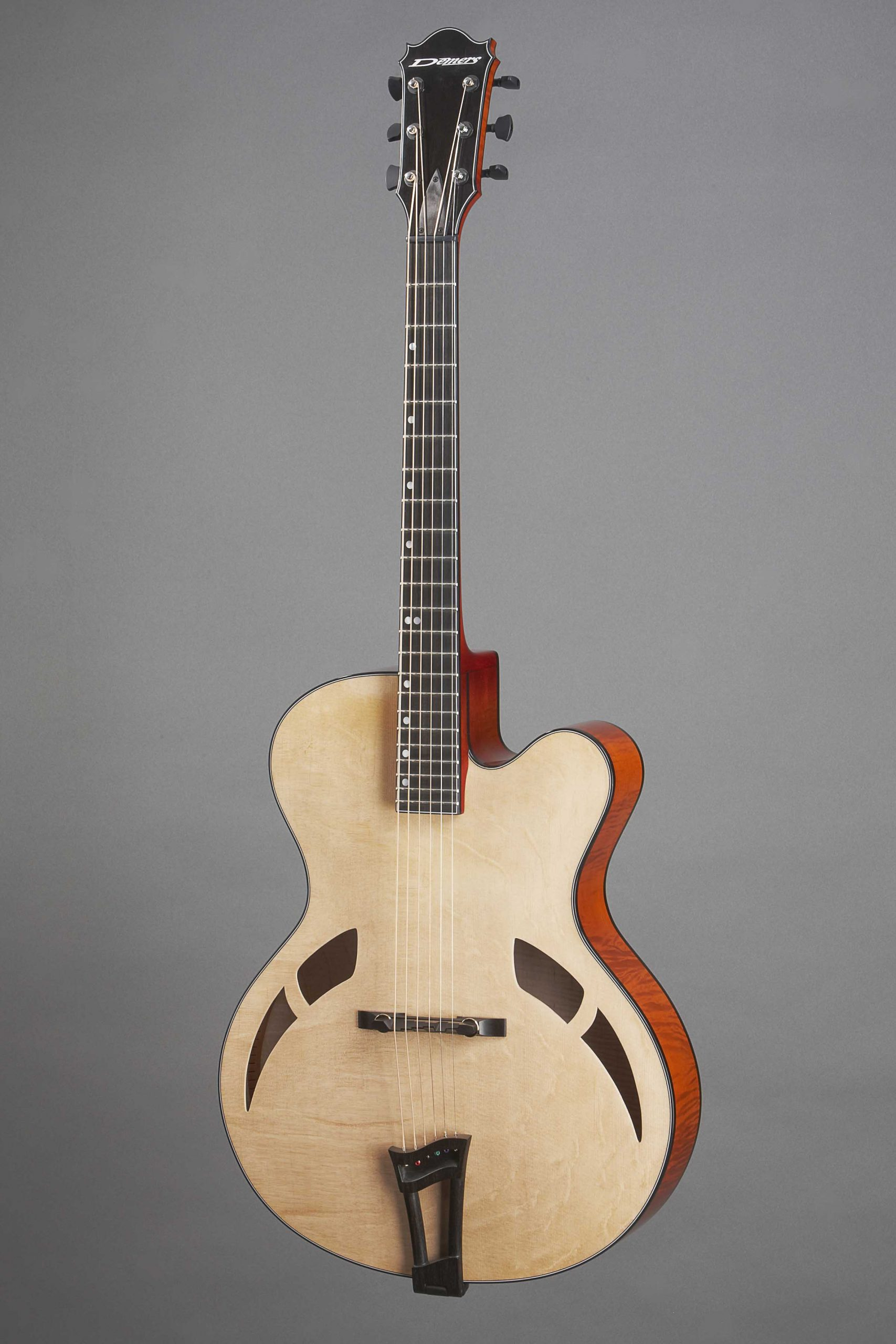 Demers Archtop 16 handcraft luthier canada rive sud montreal