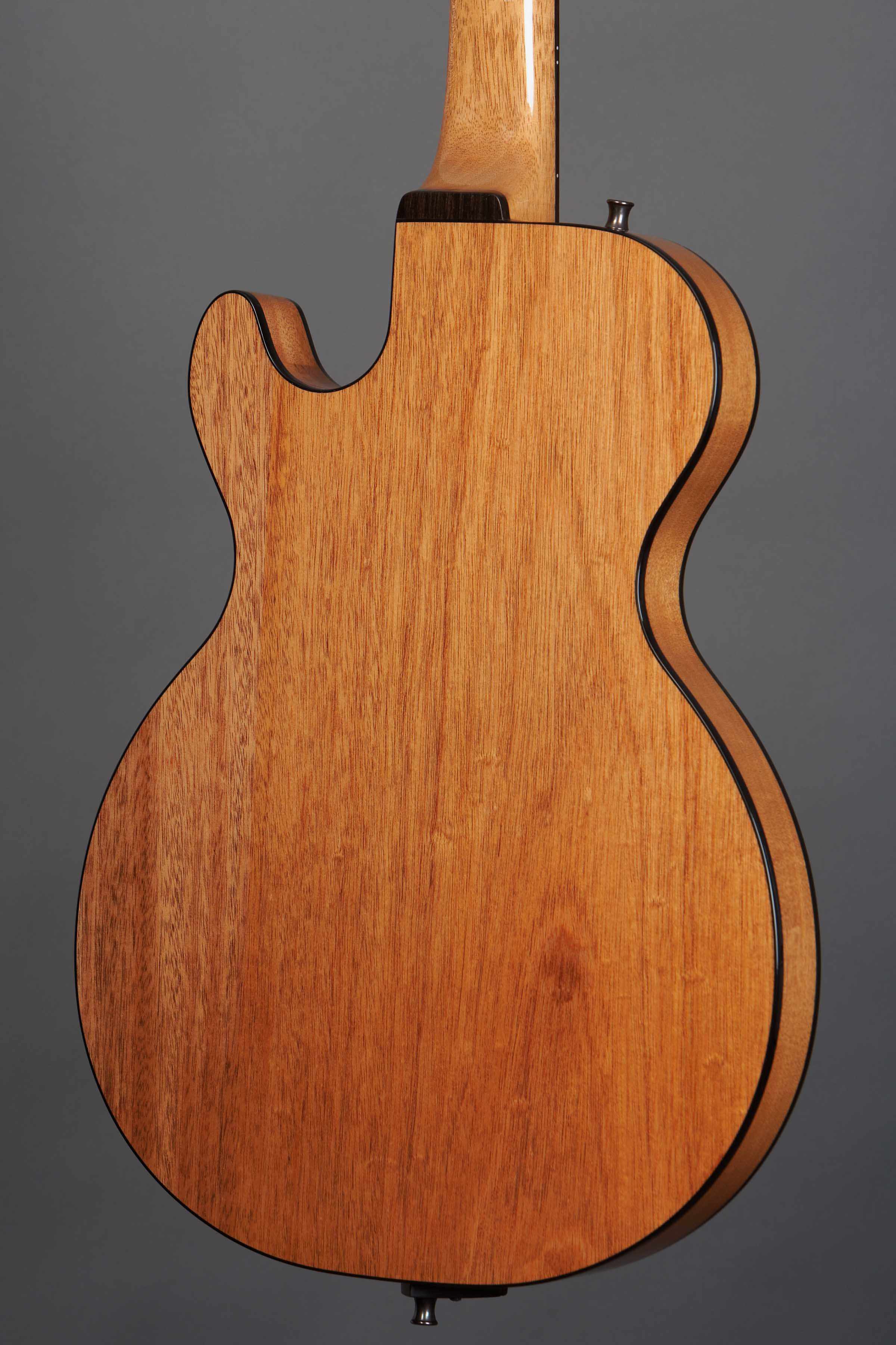 Demers voodoo hybrid jazz archtop electric guitarmaker montreal