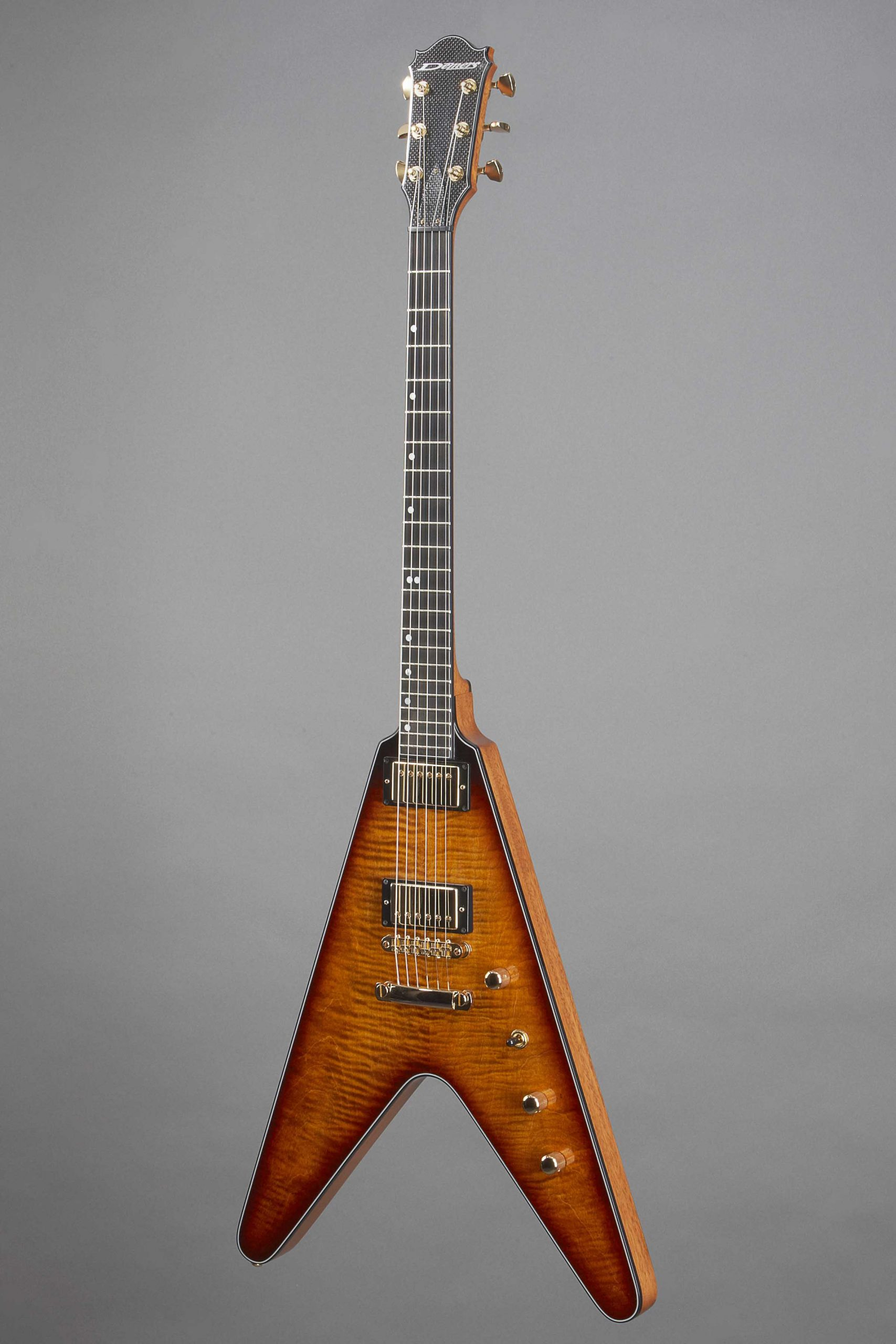guitare electrique flying V luthier demers